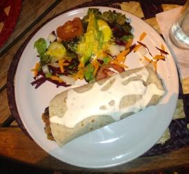 Enchilada con Crema