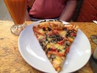 Vegetarian Pizza at Via Organica