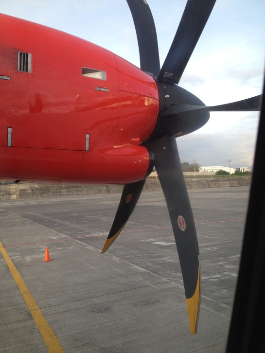 The idle propeller