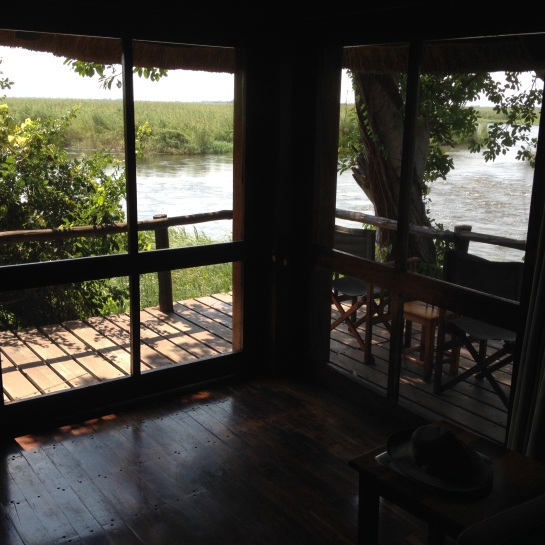Cabin on the Chobe River