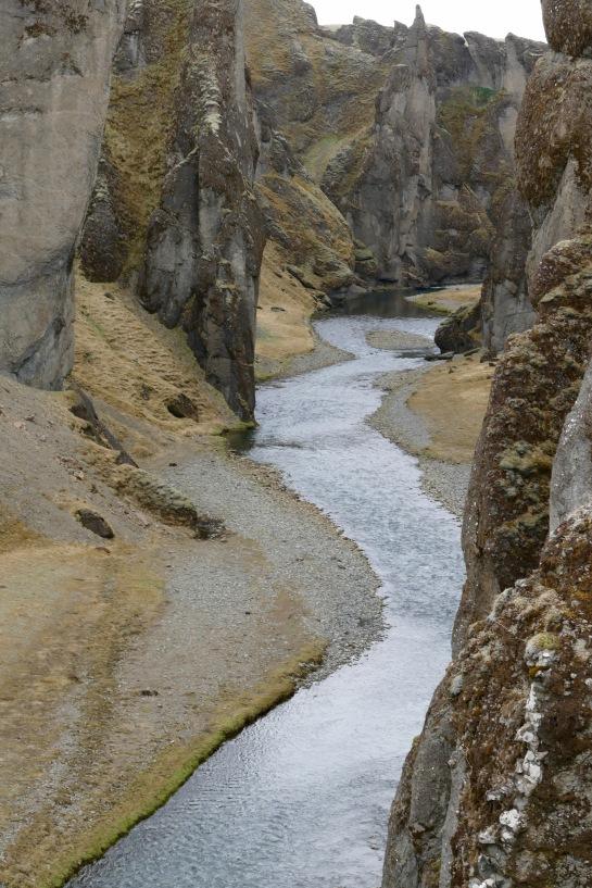 Fjaorárglijúfur Canyon