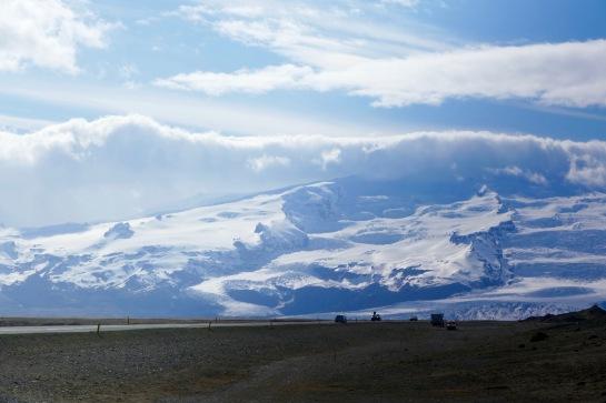 Near Jökulsárlón Glacier Lagoon
