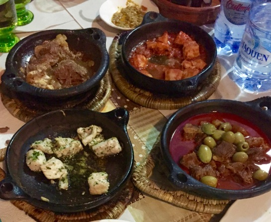 A sampling of dishes
