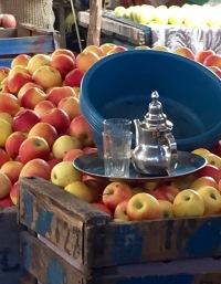 Village Market en route to Fes