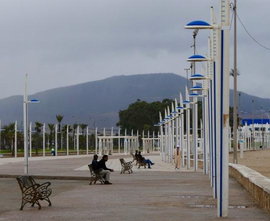 Beachside suburb of M'diq