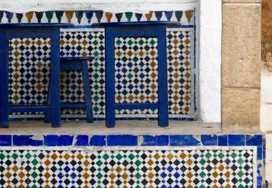Cafe in the Medina - Rabat