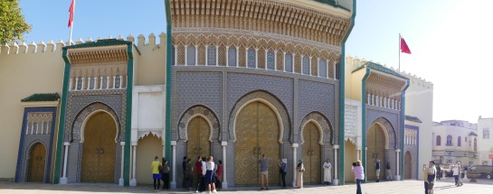 Golden Gates of the Palais Royale