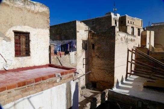 Life goes on above the medina.