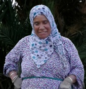 Wife of the local Imam