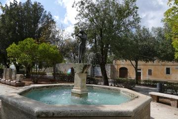 Central Square in Saturnia