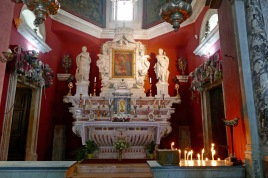 Altar & the Virgin Mary
